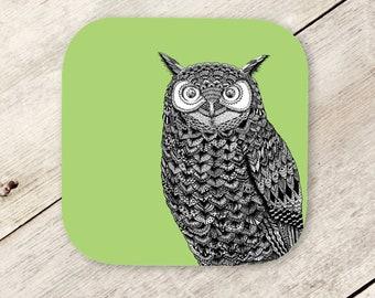 Owl, Birds, Wings, Feathers, Zentangle, Illustration