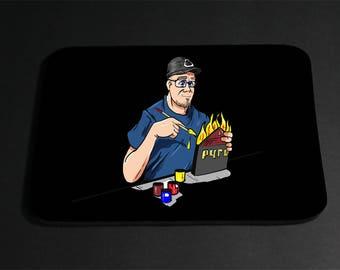 A Pyro Design Cartoon mouse pad
