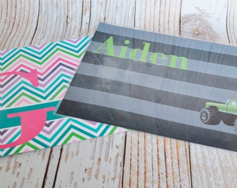 Personalized Placemat's - Custom Placemat for Children