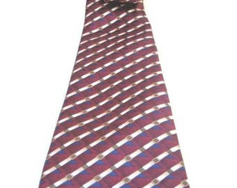 Mod Retro Vintage Taylor and Henry Neck Tie polyester made in Korea groovy gifts for him