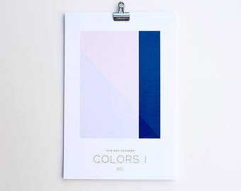 2018 Wall Calendar - Colors I
