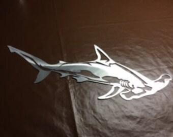 Aluminum Hammerhead Shark