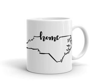 North Carolina Home State - Coffee Mug