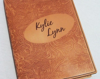 Custom Leather Composition Notebook Cover
