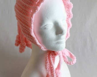 Ponytail Hat Crochet Pattern PDF