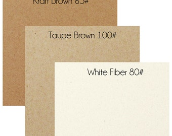 Sample Paper Packs - Recycled Cardstock