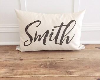 Custom Name Pillow Cover