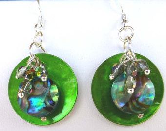 LIME CITRUS  earrings