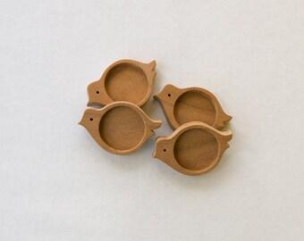 Unfinished NEAT Hardwood Bezels - Cherry - 20 mm - Circle - (UX14-C) - Set of 4