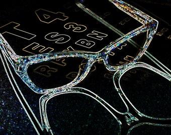 Glasses art eyechart2, glasses, photography, fine art, optical, eyeglasses