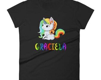 Graciela Unicorn Ladies T-Shirt