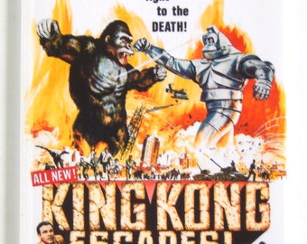 King Kong Escapes Movie Poster Fridge Magnet