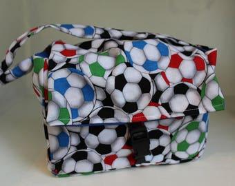 regular scripture tote soccer ball/scripture case/ sport scripture case