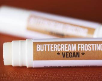 VEGAN Buttercream Frosting Lip Balm