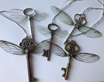 Special order Harry Potter Flying Key Ornament