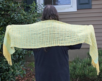 Leno Lace Handwoven Wrap/Shawl
