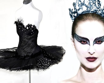 Black Swan Costume - Made to Measure - Featured in Playboy