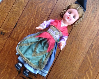 Ethnic Costume Doll - Dutch - Holland  - H.D. - Gura, also came with a hang tag - not included., (Germany)