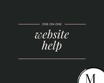 WordPress help, 60 minutes