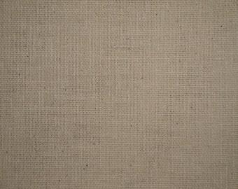 Osnaburg Fabric | Natural Osnaburg Cotton Fabric | Primitive Woven Fabric | Doll Making Fabric