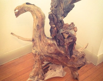 Driftwood unicorn, flying horse, Free Shipping, Reclaimed Driftwood, Home Decor, Nature, wood Sculpture, Natural Art, Wood Carving, Drift B