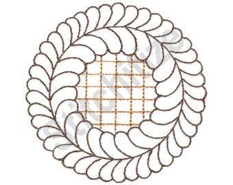 Lattice Pie - Machine Embroidery Design, Pie, Lattice Design