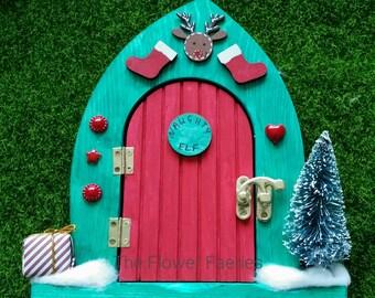 Elf Door -The Naughty Elf