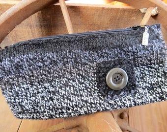 Hand Knit Clutch