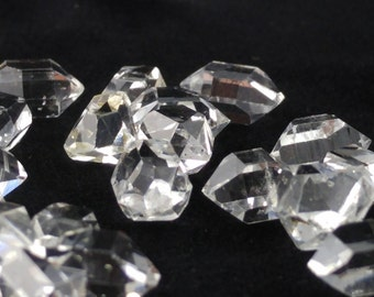 Herkimer Diamond, Double Terminated Quartz, Herkimer Quartz, Jewelry Quality Herkimer Diamond, Water Clear Herkimer Diamond, 8mm