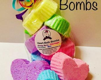 Heart Bath Bomb Set