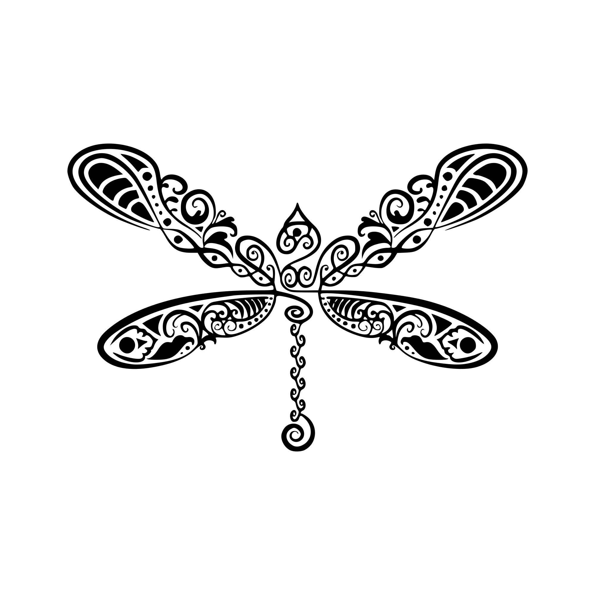Ungewöhnlich Libelle Mandala Malvorlagen Fotos - Beispiel ...
