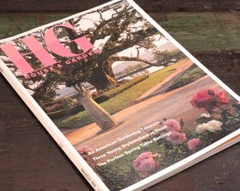 HG, House & Garden Magazine, March 1991