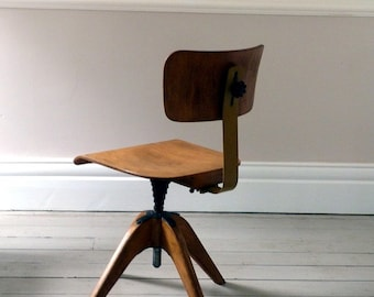 Vintage Planners Desk Chair / Office Chair  c.1950