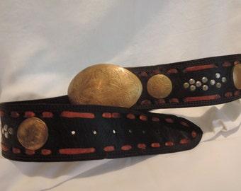 A Black Laced Belt