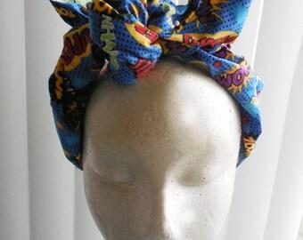Cartoon Type Wired Fabric Headband