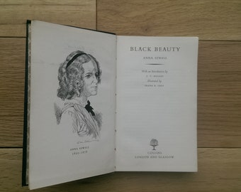 1953 Edition of Black Beauty by Anna Sewell Illustrated by Frank R Grey