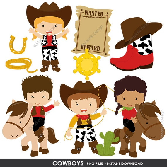 cowboy clipart cowgirl clip art wild west western clipart for rh etsystudio com wild west clipart black and white wild west clip art borders