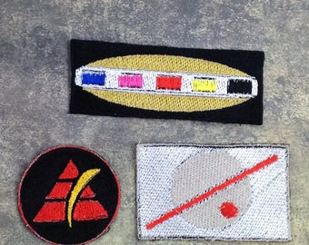 Power Rangers In Space - Jacket Patch Set