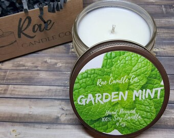 Garden Mint 4 oz. Soy Candle