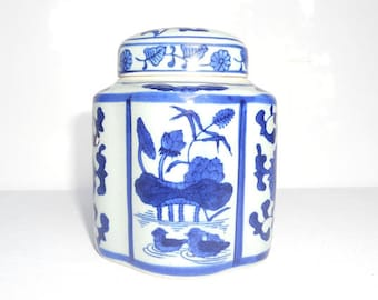 Asian vintage table pot signed ceramic - tea - pot sugar Creamer