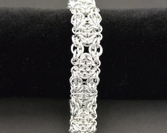 Celtic Squares Chainmail Bracelet