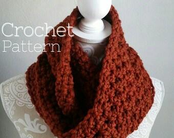 Infinity Scarf Pattern, Crochet Scarf Pattern, Double Loop Infinity Pattern, All levels crochet pattern, The Oscar Infinity, DIY Scarf