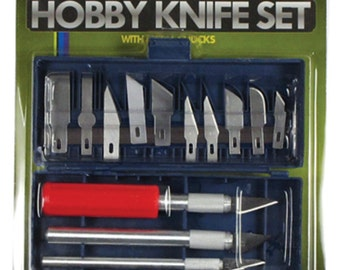 hobby exacto knife 16pc set