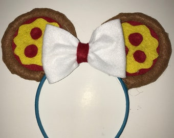 Pizza Minnie Mouse Ears