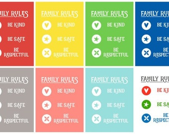 3 Simple Family Rules