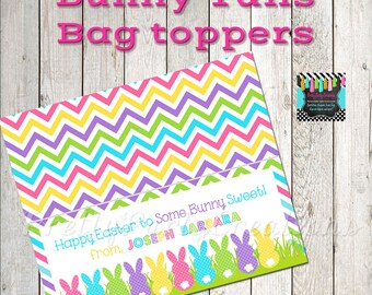 BUNNY TAILS bag toppers - YOU Print