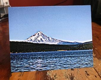 Timothy Lake / Mt Hood Note Card