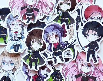 Owari no Seraph sticker set