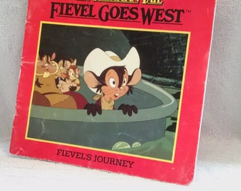 An American Tail Fievel Goes West Book