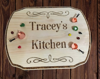 Decorative Kitchen Plaque